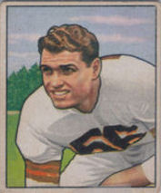 Dante Lavelli Rookie 1950 Bowman #78 football card