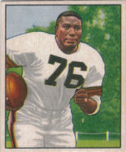 Marion Motley Rookie 1950 Bowman #43 football card