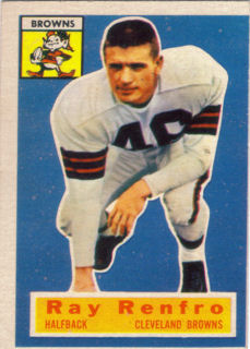 Ray Renfro 1956 Topps #69 football card
