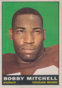Bobby Mitchell 1961 Topps #70 football card