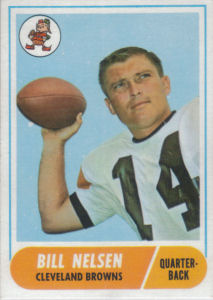 Bill Nelsen 1968 Topps #189 football card