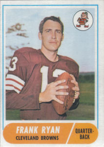 Frank Ryan 1968 Topps #215 football card