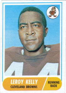 Leroy Kelly 1968 Topps #206 football card