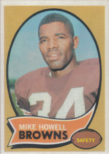 Mike Howell Rookie 1970 Topps #91 football card