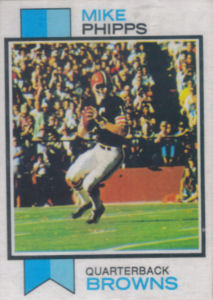 Mike Phipps 1973 Topps #229 football card