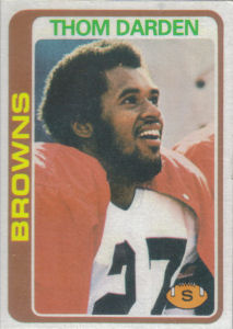 Thom Darden 1978 Topps #373 football card