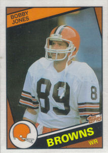 Bobby Jones 1984 Topps #54 football card
