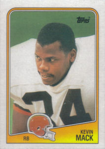 Kevin Mack 1988 Topps #88 football card