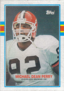 Michael Dean Perry Rookie 1989 Topps #148 football card