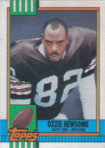 Ozzie Newsome 1990 Topps #168 football card