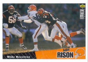 Andre Rison 1996 Upper Deck Collectors Choice #234 football card