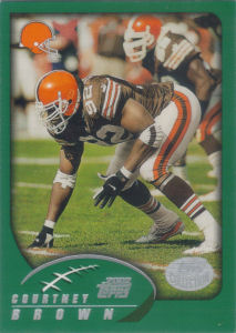 Courtney Brown 2002 Topps #57 football card