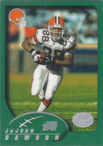 JaJuan Dawson 2002 Topps #37 football card