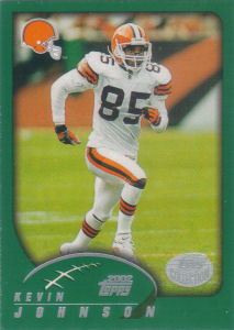 Kevin Johnson 2002 Topps #274 football card