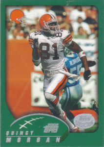 Quincy Morgan 2002 Topps #225 football card