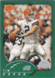 Tim Couch 2002 Topps #21 football card