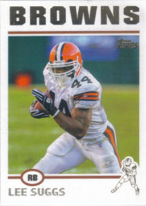 Lee Suggs 2004 Topps #128 football card