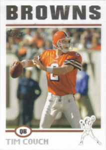 Tim Couch 2004 Topps #79 football card