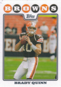 Brady Quinn 2008 Topps #45 football card