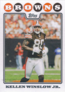 Kellen Winslow Jr. 2008 Topps #177 football card