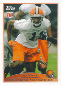 Mohamed Massaquoi Rookie 2009 Topps #412 football card