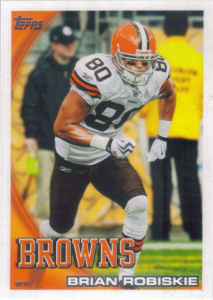 Brian Robiskie 2010 Topps #196 football card