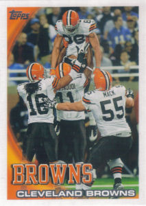 Browns Team Leaders 2010 Topps #377 football card