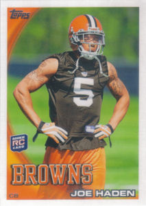 Joe Haden Rookie 2010 Topps #169 football card