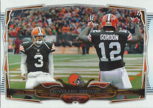 Browns Team Leaders 2014 Topps #268 football card