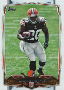 Terrance West Rookie 2012 Topps #384 football card