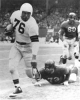 Early Cleveland Browns and Marion Motley