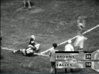 1950 Browns vs 1949 NFL Champion Eagles