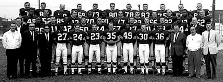 1964 Cleveland Browns Team Picture