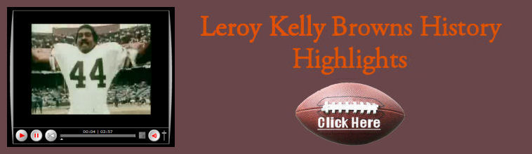 Image of Leroy Kelly linking to his Browns history video highlights
