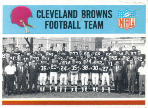 1965 Cleveland Browns Team card