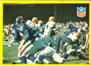 1967 Leroy Kelly Browns Play card