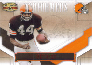 2008 Leroy Kelly Donruss Gridiron Gear Performers RED #P-29 football card