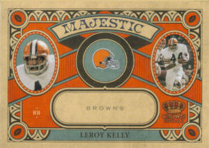 2010 Leroy Kelly Panini Crown Royale Majestic #23 football card