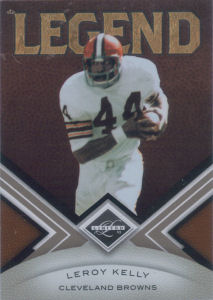 2010 Leroy Kelly Panini Legend Limited #138 football card - Serial no. 225/499