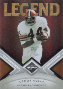2010 Leroy Kelly Panini Legend Limited Silver Spotlight #138 football card - Serial no. 02/50