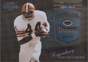 2010 Leroy Kelly Panini Playoff Legendary Contenders #21 football card
