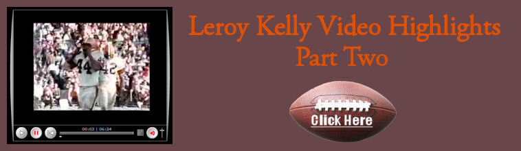 Image of Leroy Kelly linking to his video highlights part two