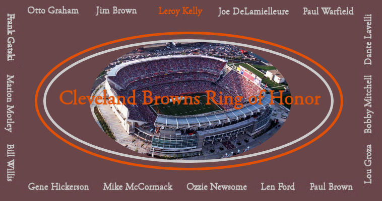 Cleveland Stadium and Ring of Honor linking to article